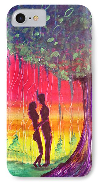 Adam And Eve Phone Case by Fore Lima and Donnelly