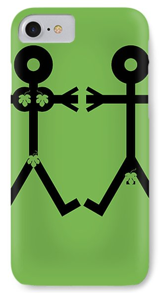 Adam And Eve Icon Phone Case by Thisisnotme