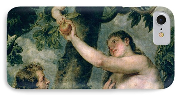 Adam And Eve IPhone Case