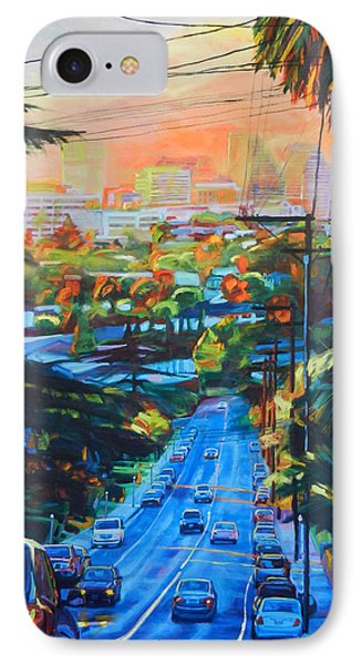 Towards The Light IPhone Case by Bonnie Lambert