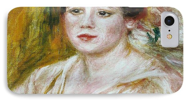 Adele Besson IPhone Case by Pierre-Auguste Renoir