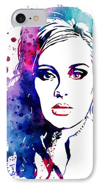 Adele IPhone 7 Case by Luke and Slavi