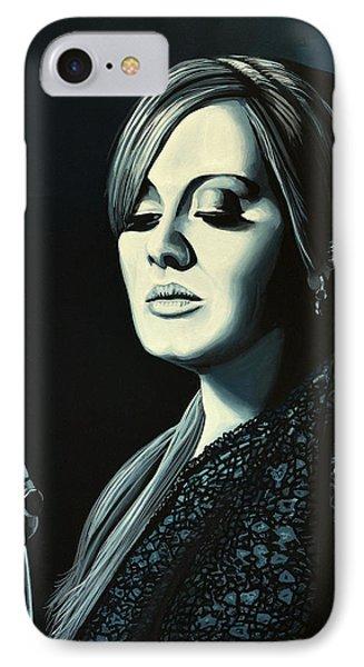 Music iPhone 7 Case - Adele 2 by Paul Meijering