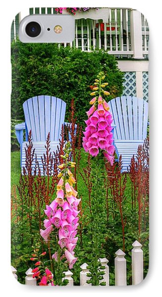 Adirondack Garden IPhone Case
