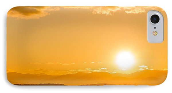 Adirondack Sunset IPhone Case by Jeremy Farnsworth