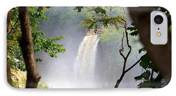 IPhone Case featuring the photograph Adirondacks Waterfall by Patti Whitten