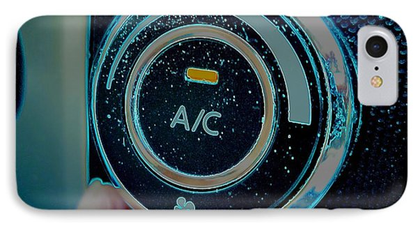 Adjusting The Air Conditioning IPhone Case by Renee Trenholm