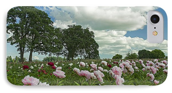 Adleman's Peony Fields IPhone Case by Nick  Boren
