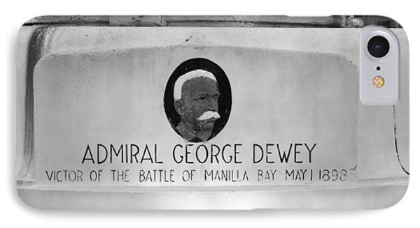 Admiral Dewey Monument IPhone Case by David Lee Thompson