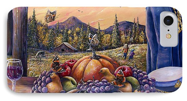 Admirals Harvest IPhone Case by Gail Butler