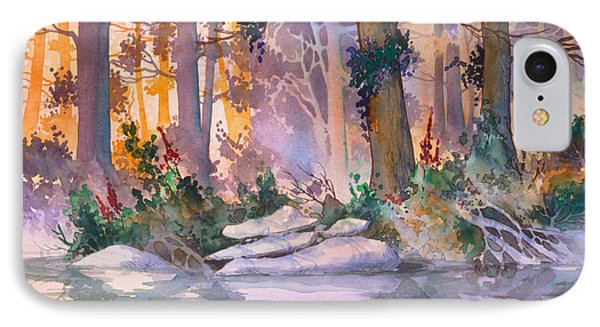 Admiralty Forest For Fran IPhone Case by Teresa Ascone
