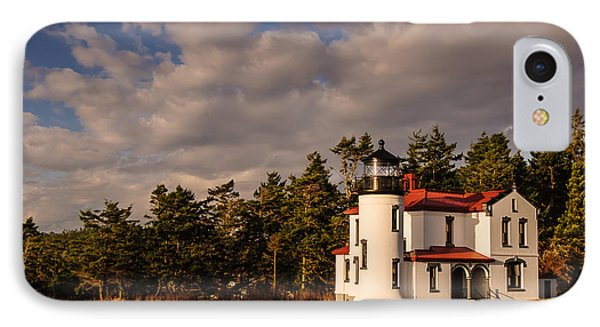 Admiralty Head Lighthouse Phone Case by Dan Mihai