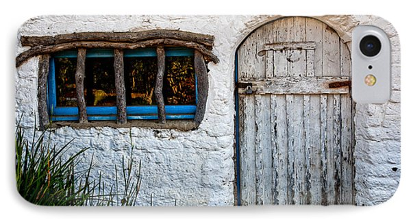 Adobe Door And Window Phone Case by Peter Tellone