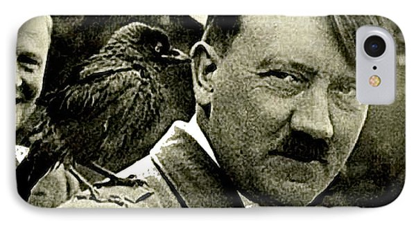 Adolf Hitler And A Feathered Friend C.1941-2008 IPhone Case by David Lee Guss