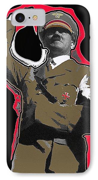 Adolf Hitler Saluting 2 Circa 1933-2009 IPhone Case by David Lee Guss