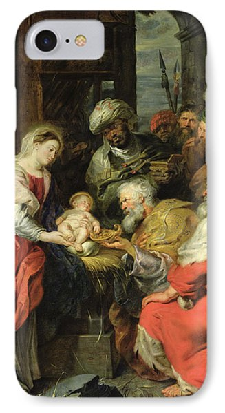 Adoration Of The Magi, 1626-29 Oil Canvas IPhone Case