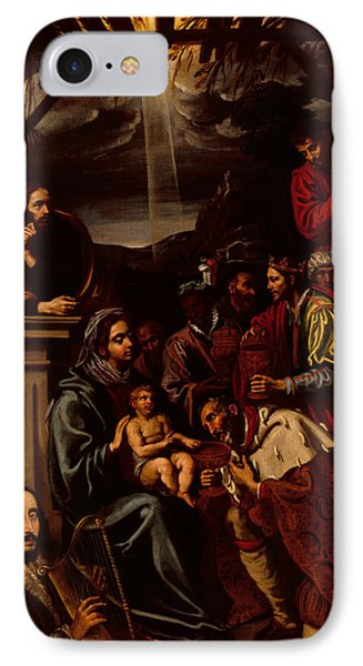 Adoration Of The Magi Phone Case by Unknown