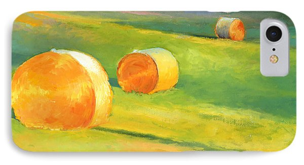 Advance Mills Hall Bales IPhone Case