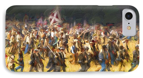 Advancing To The Front IPhone Case