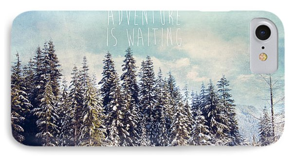 IPhone Case featuring the photograph Adventure Is Waiting by Sylvia Cook