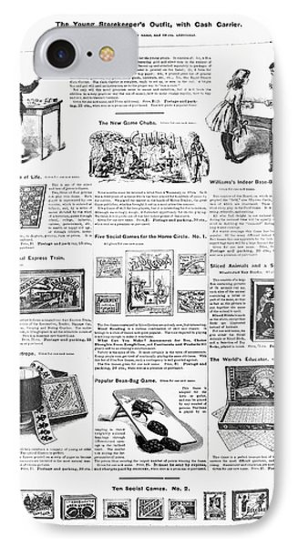 Advertisement Toys, 1890 IPhone Case by Granger
