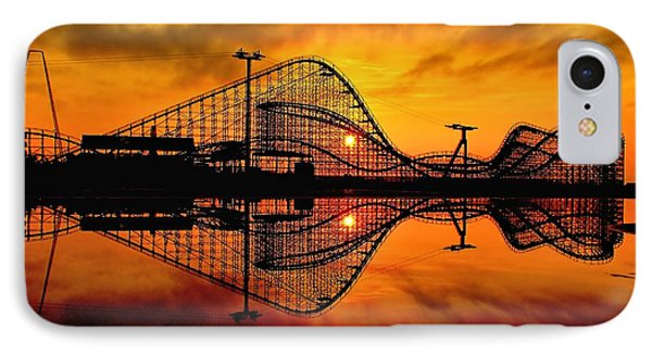 Adventure Pier At Sunrise IPhone Case by Nick Zelinsky