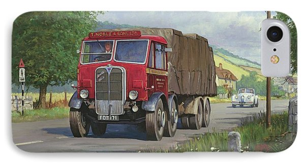 Aec Mammoth Major In Devon IPhone Case by Mike  Jeffries