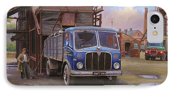 Aec Mercury Tipper. Phone Case by Mike  Jeffries