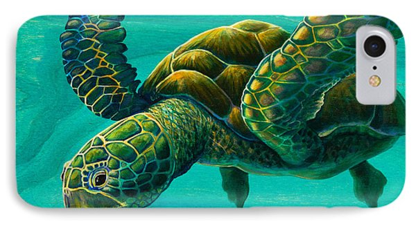 Aeko Sea Turtle Phone Case by Emily Brantley