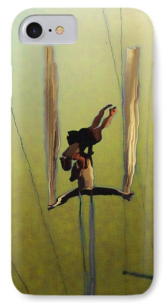Aerial Acrobatic Artistry2  Phone Case by Anne Mott