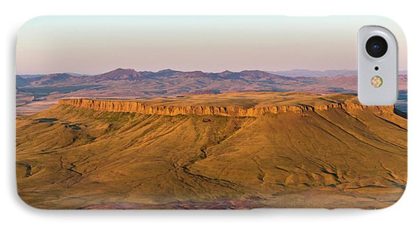 Aerial Of Square Butte Near Great IPhone Case by Chuck Haney