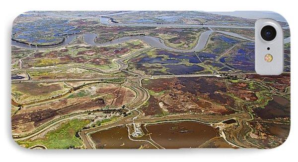 Aerial Of The California Delta IPhone Case