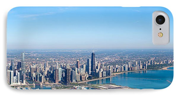 Aerial View Of A Cityscape, Trump IPhone Case by Panoramic Images