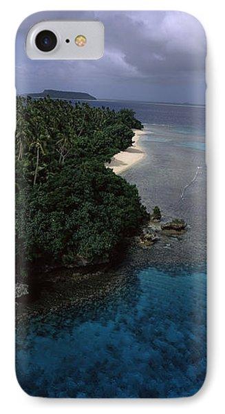 Aerial View Of A Coastline, Vavau IPhone Case