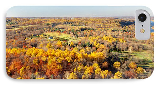 Aerial View Of A Landscape, Delaware IPhone Case