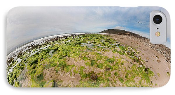 Aerial View Of A Landscape, Huntington IPhone Case