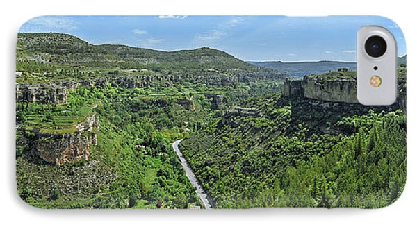 Aerial View Of A Valley, Rincon Seco IPhone Case