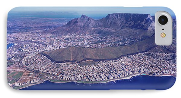 Aerial View Of An Island, Cape Town IPhone Case by Panoramic Images