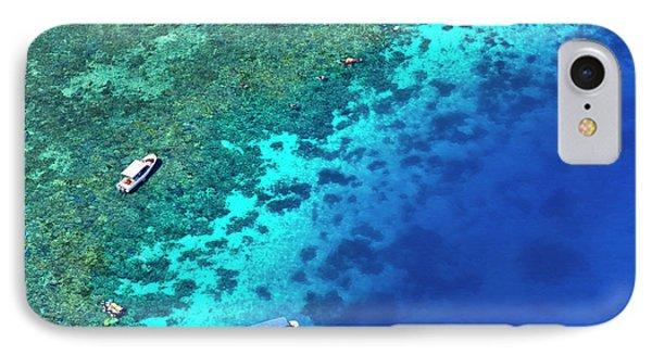 Aerial View Of Beach, Palau IPhone Case