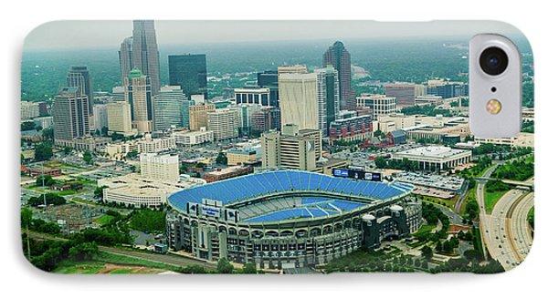 Aerial View Of Ericcson Stadium IPhone Case