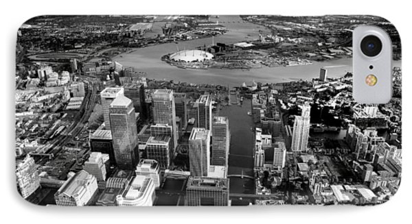 Aerial View Of London 5 IPhone 7 Case by Mark Rogan