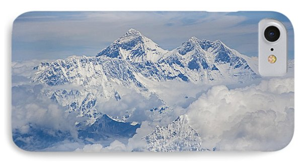 Aerial View Of Mount Everest Phone Case by Hitendra SINKAR