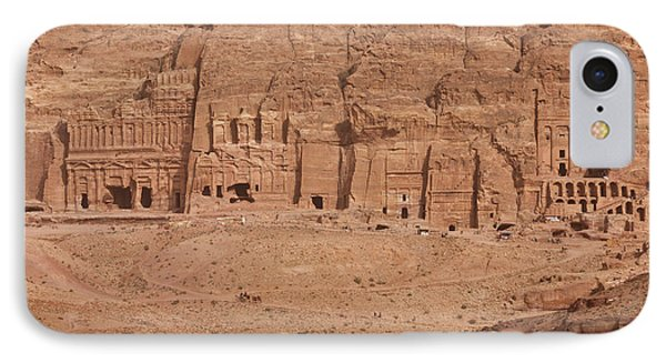 Aerial View Of Royal Tombs At Ancient IPhone Case