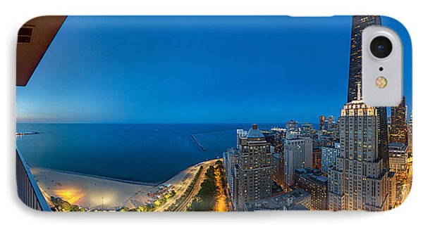 Aerial View Of The Lake Shore Drive IPhone Case by Panoramic Images
