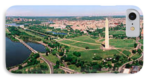 Aerial Washington Dc Usa IPhone 7 Case