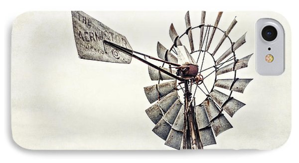 Aermotor Windmill In Grapevine Texas IPhone Case by Lisa Russo