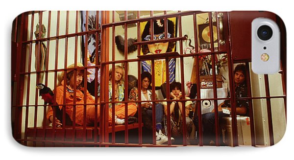 Aerosmith - In A Cage 1980s IPhone Case by Epic Rights