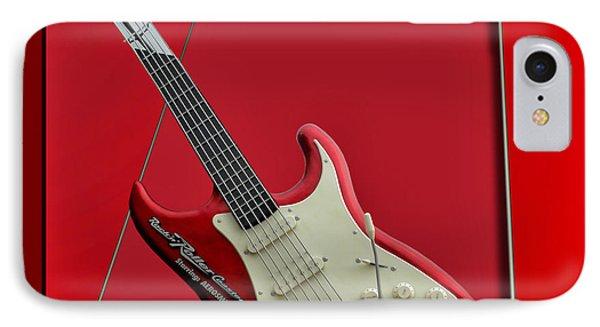 Aerosmith Rockn Roller Guitar Phone Case by Thomas Woolworth