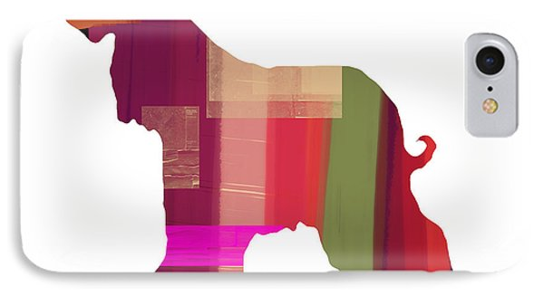 Afghan Hound 2 IPhone Case by Naxart Studio