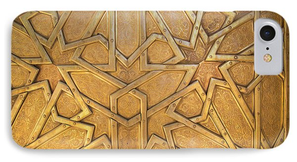 Africa, Morocco, Fes, Fes Medina, Brass IPhone Case